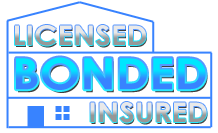 License, Insured and Bonded